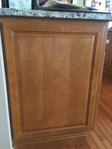 Decorative end panels for base cabinet in Naperville, Illinois