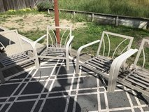 Four Patio Chairs in Vacaville, California