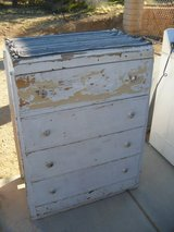 ###  Painted Vintage Dresser  ### in 29 Palms, California