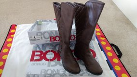 Women's Bailey brown knee-high boots in Honolulu, Hawaii