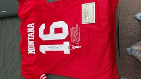 Autogtaphed Joe Montana Jersey in Edwards AFB, California