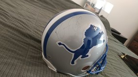 Autogtaphed Barry Sanders helmet in Edwards AFB, California
