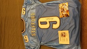 Autogtaphed Matthew Stafford Jersey in Edwards AFB, California