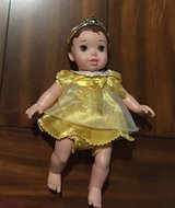 Disney's Princess Belle My First Baby Doll Wiggles Coo & Laughs in Lockport, Illinois