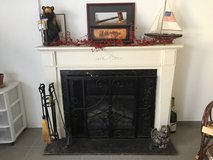 Fireplace insert, screen and tools in Ramstein, Germany