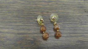 Brown drop earrings in Batavia, Illinois