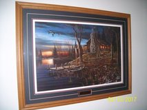 """cabin on the lake "" print in Morris, Illinois"