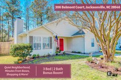 3 BED/2 BATH WITH A BONUS IN JACKSONVILLE! GREAT LOCATION! in Camp Lejeune, North Carolina