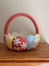 Blossoms&Blooms Ceramic Basket in Tinley Park, Illinois