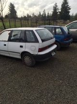 1993 or 94 Geo Metro mechanic special ran before parked in Fort Lewis, Washington