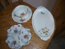 2 dishes cup and saucer/ bone china england/japan  perfect very old in Lockport, Illinois