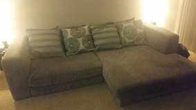 Grey Couch (Moore Furniture-Cloud) in San Diego, California