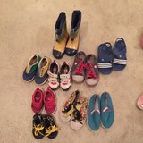boys and girl shoes in Okinawa, Japan