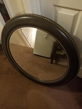 Havertys / Round Wood / Beveled Mirror in Fort Campbell, Kentucky