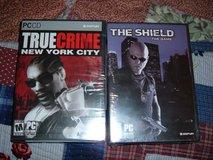 PC GAMES THE SHIELD THE GAME/TRUE CRIME NEW YORK CITY & NEVERWINTERNIGHTS 2 MASK OF THE BETRAYER in Sacramento, California