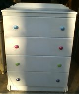 3-pc White Nursery SET - Chest of Drawers, Changing Table, and Crib - GREAT DEAL in Camp Lejeune, North Carolina