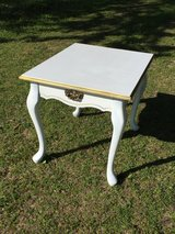 White Square End Table in Byron, Georgia