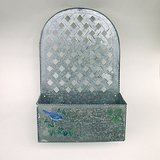 TIN PLANTER or LETTER BOX: Hang or Sit in Westmont, Illinois
