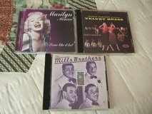 Music Memories 3 cd Misc Marilyn Monroe/Jackie Gleason/Mills Brothers in Sacramento, California