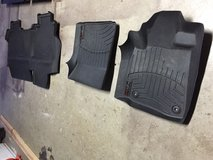 Weather tech floor mats for 2014 Toyota Tundra Double cab in Travis AFB, California