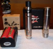 E-Cigs Mods + Dripper + batteries and charger in Byron, Georgia