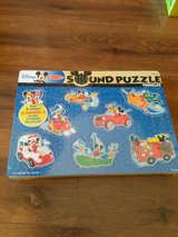 Disney Sound Puzzle by Melissa and Doug in Warner Robins, Georgia