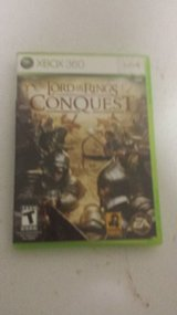 XBOX 360 LORD OF THE RINGS CONQUEST LIVE in Fort Leonard Wood, Missouri
