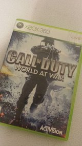 XBOX 360 CALL OF DUTY WORLD AT WAR in Fort Leonard Wood, Missouri