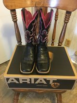 ARIAT women's size 7B boots in Camp Lejeune, North Carolina