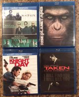 Blu-Ray + DVD Movie Collection in Kingwood, Texas