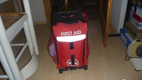 First Aid carryon bag with roller blade wheels. in Ramstein, Germany