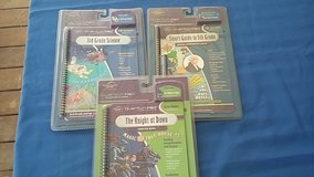 3 quantum leap pad books and cartridges in Camp Lejeune, North Carolina