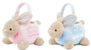 Baby's First Easter Bunny Basket - Personalized with Name in Conroe, Texas