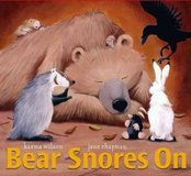 Bear Snores On The Bear Books Children's Hard Cover Book w Dust Jacket in Morris, Illinois