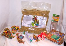 NEW! Premium Pellet Food & Toys for Small Parrot in Alamogordo, New Mexico
