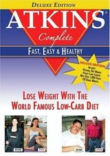 Atkins Complete - Fast, Easy & Healthy (Deluxe Edition) DVD SET in Sacramento, California