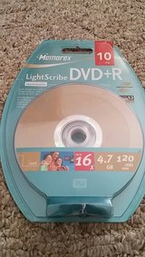 Lightscribe recordable DVDs NIB in Elgin, Illinois