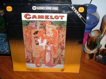 Laser Discs Camelot/Grosse Point Blank/Brainstorm in Sacramento, California