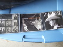 LYLE LOVETT COLECTION 3 CD SET in Sacramento, California