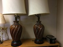 Matching lamps in Fort Knox, Kentucky