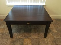 Square coffee table in 29 Palms, California