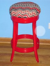 "cute metal stool 24.5""H in Naperville, Illinois"