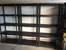 Storage Shelving Unit in Vacaville, California