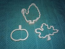 Fall/Thanksgiving Cookie Cutters in Beaufort, South Carolina