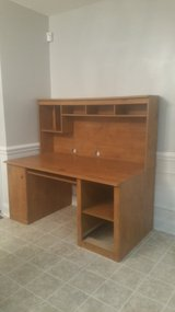 Wooden desk. Very sturdy in Perry, Georgia