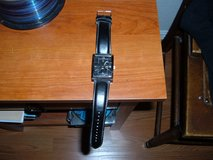 GEORGE STAINLESS SILVER/BLACK WRIST WATCH in Sacramento, California