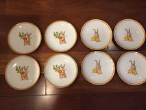 8 New Easter Salad Dessert Plates - World Market in Naperville, Illinois