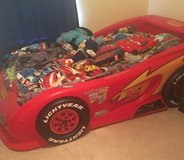 Lightning McQueen Twin sized car bed in Hinesville, Georgia