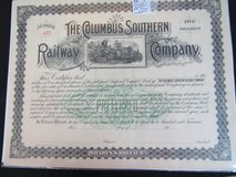 Railroad Employee Timetables & Stock Certificates in Cherry Point, North Carolina