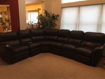 Leather Sectional Sofa in DeKalb, Illinois